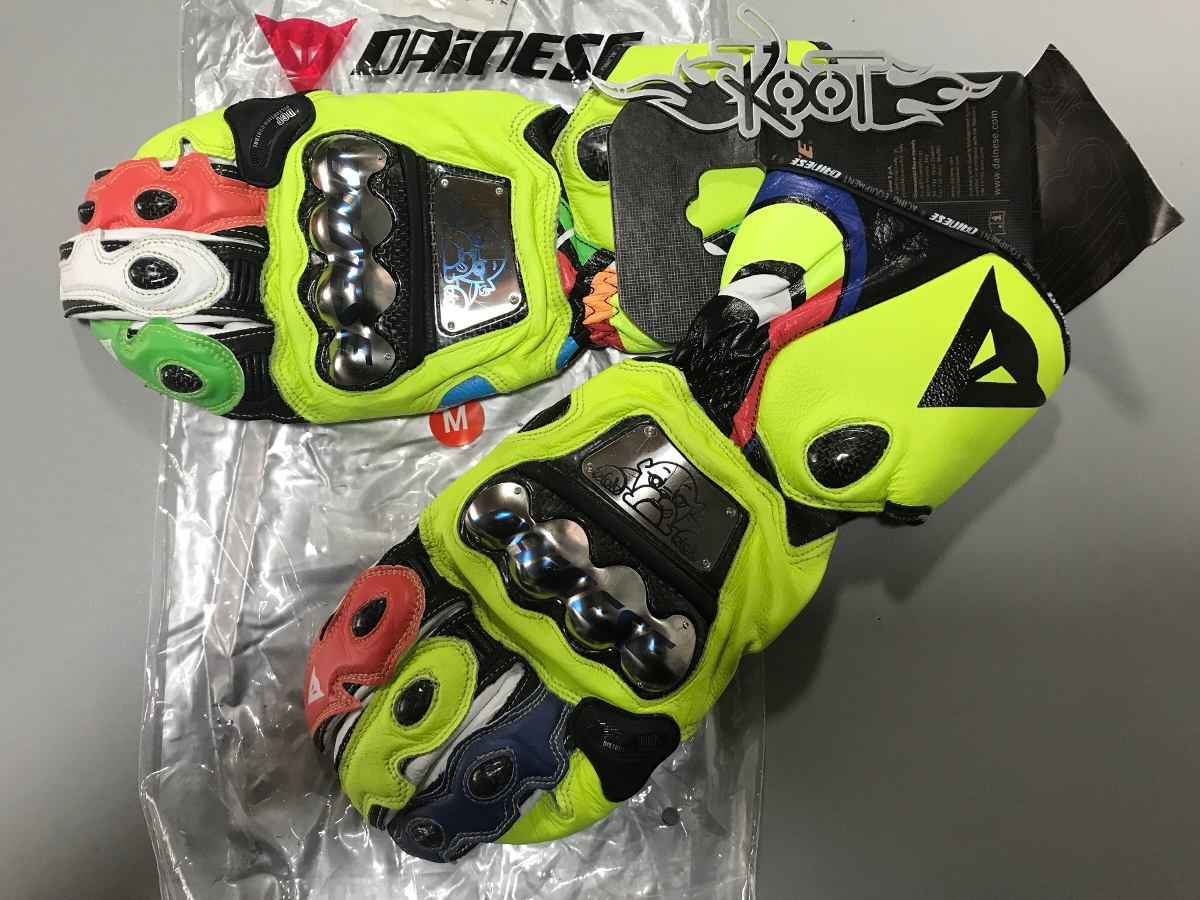 f4d85222acf guantes para moto dainese vr46 rossi solo l. Cargando zoom.