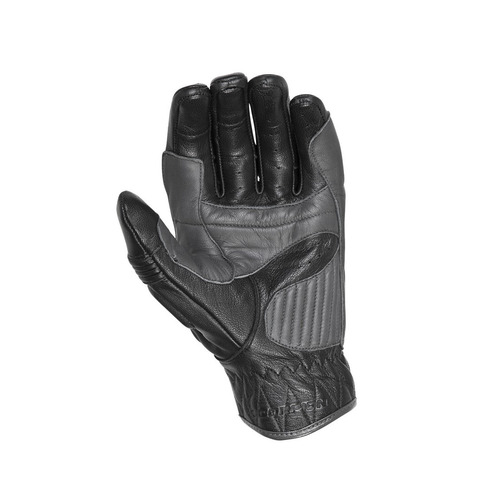 guantes para motocicleta scorpion bixby de cuero negros md
