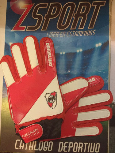 guantes para niños river plate
