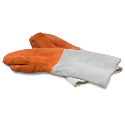 guantes para panadero fabricados con cuero áspero ca192