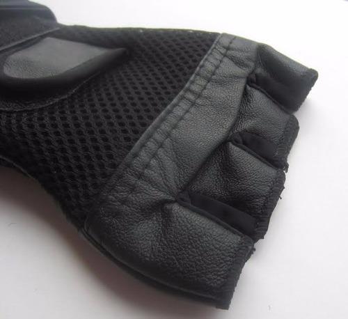 guantes para pesas gimnasio gym deporte con muñequera hombre