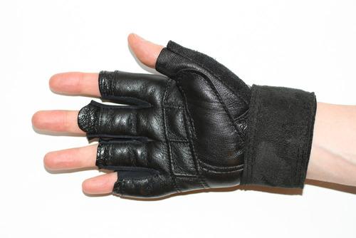 guantes para pesas / pesista marca verri. mod 5200 gym