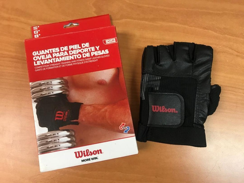 guantes para pesas wilson - guantes para gym