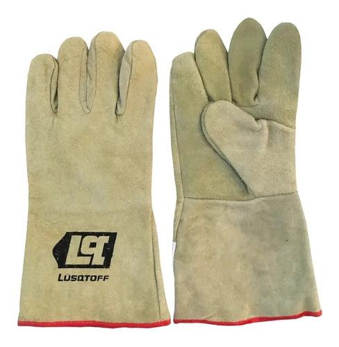 guantes para soldador de kevlar comun marca lusqtoff