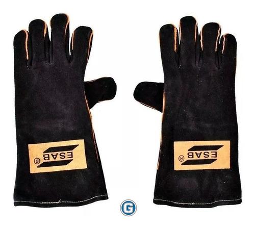 guantes para soldar esab heavy duty black soldador gramabi r