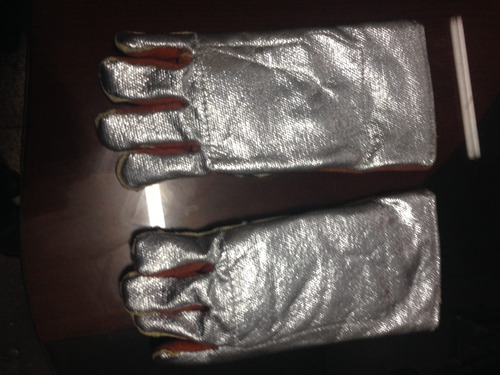 guantes para soldar para temperatura