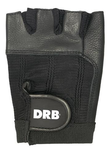 guantes pesas cuero natural drb gimnasio ciclismo bici crossfit