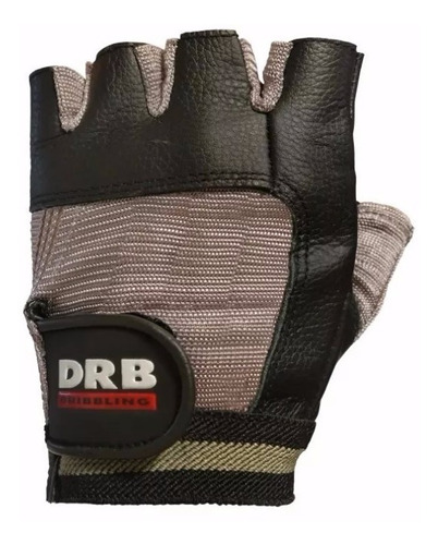 guantes pesas cuero natural drb lift gimnasio ciclismo bici