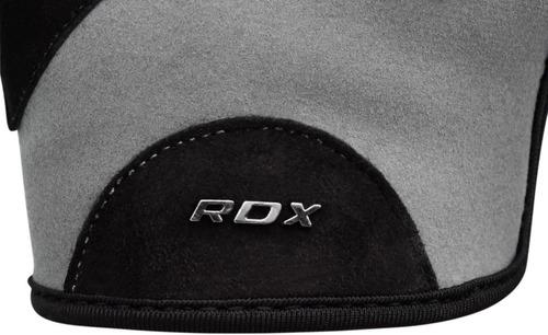 guantes pesas gimnasio - rdx - licra cuero - mujer - talla s