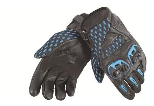 guantes pista dainese air hero unisex negro/azul elec