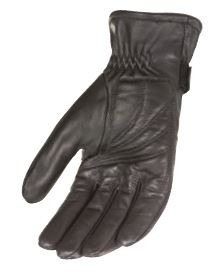 guantes power trip jet black hombre forrado negro 2xl