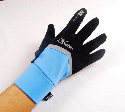 guantes primera capa touch trekking camping tallas