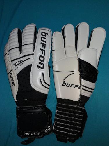 guantes profesionales buffon supremo 4 mm de palma talla 10