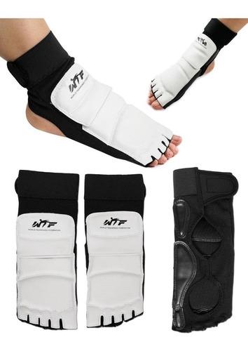 guantes proteccion para los pies empeineras taekwondo mma