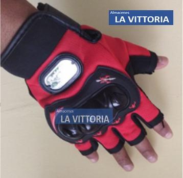 guantes  racingg  medio dedo moto cross