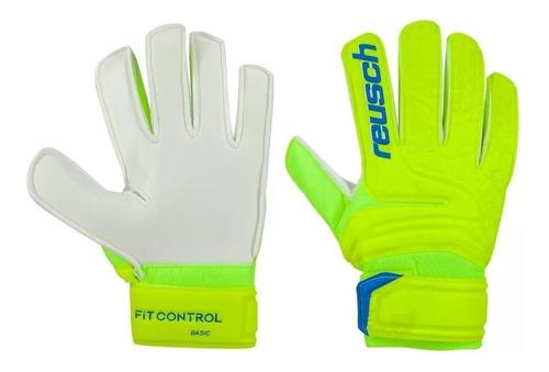 guantes reusch niño futbol fit control basic new exclusivo