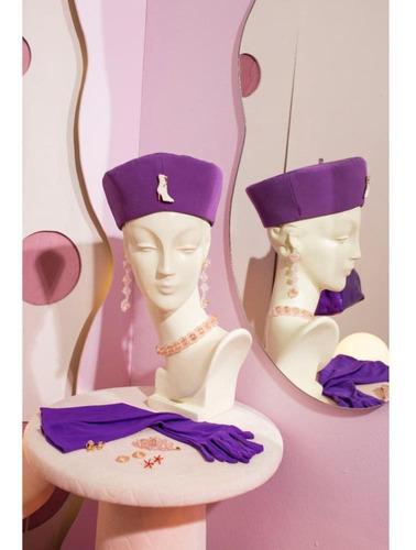 guantes rita liso violeta las pepas