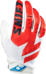 guantes shift faction 2016 mx/offroad blanco/rojo lg