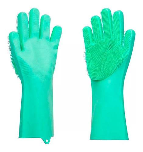 guantes silicona washing gloves limpieza cocina auto baño