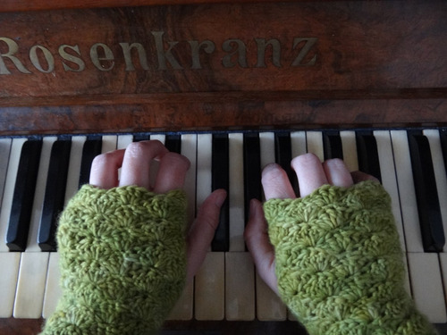 guantes sin dedos, calentadores de manos, mitones, manoplas
