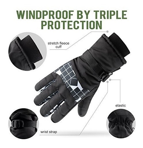 guantes ski gloves for men and women waterproof w buho store