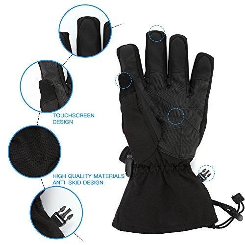 guantes snow ski