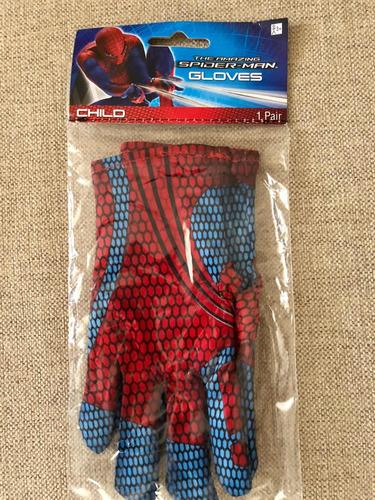 guantes spiderman complemento disfraz niños