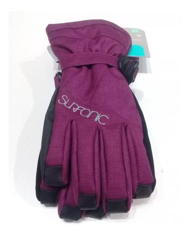 guantes surfanic cushy niñas ski nieve impermeables