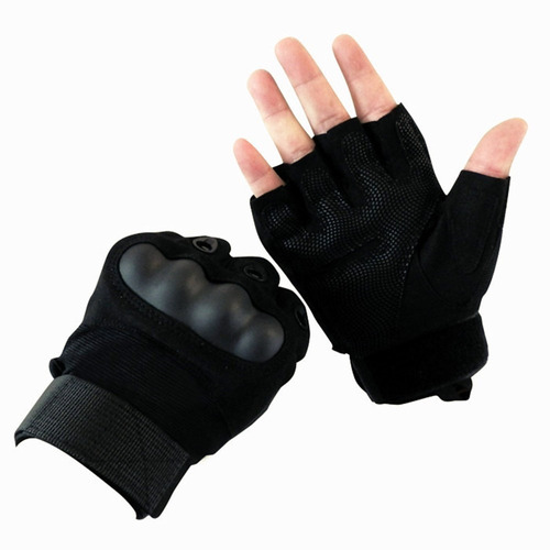 guantes tacticos militar nudillos negro corto f-501 airsoft