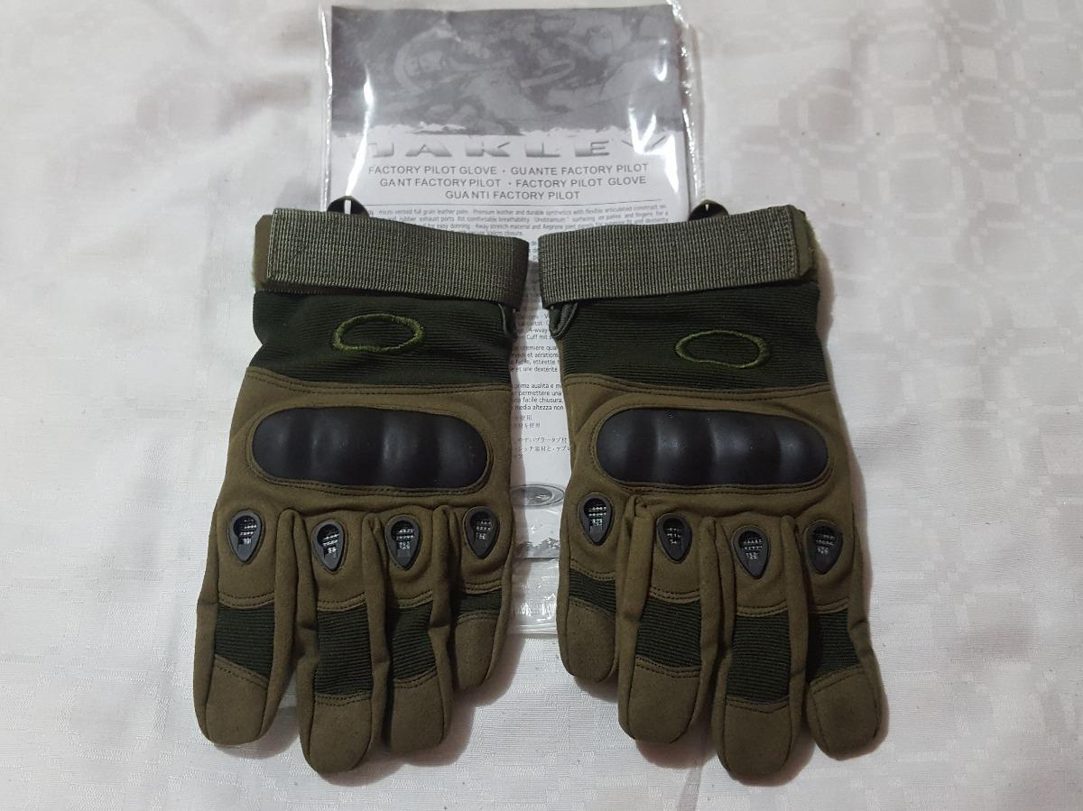 guantes tacticos oakley verdes