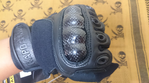 guantes tacticos rapdom rapid dominance de fibra de carbono