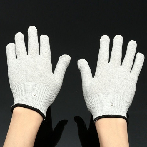guantes terapia con electroestimulador,aliviate artritis,etc