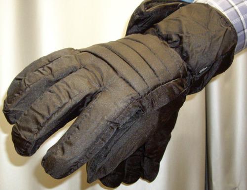 guantes termicos invierno nieve bajo cero viento lluvia
