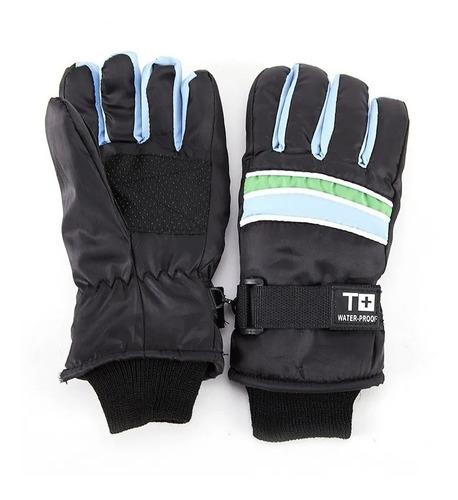 guantes termicos niños invierno ajustable bajas temperaturas