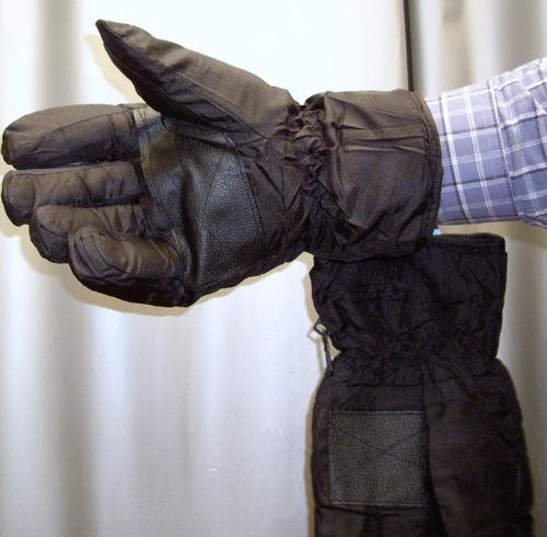 guantes termicos proteccion frio intenso nieve