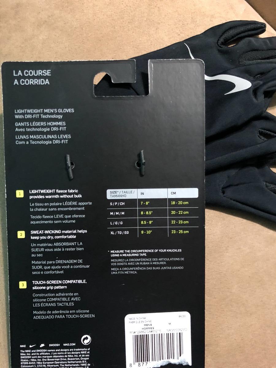 6ca397825 guantes termicos unisex nike running talla m original 1,299$. Cargando zoom.