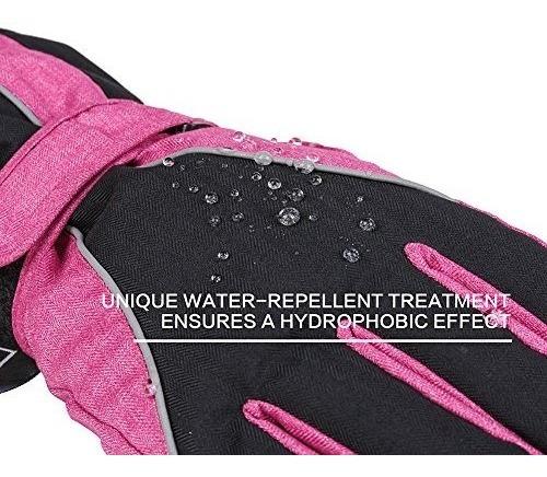 guantes terra hiker waterproof microfiber winter  buho store
