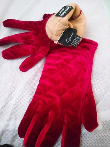 guantes thinsulate dama térmicos aislantes isotoner