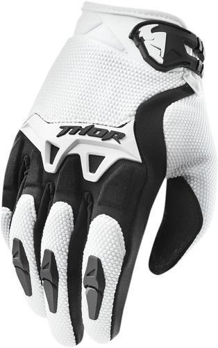 guantes thor spectrum 2015 blanco xs