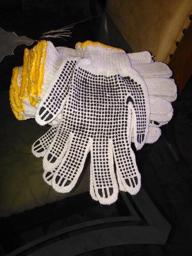 guantes tipo carolina de tela