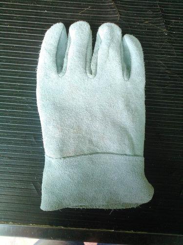guantes todo carnaza reforzado palma