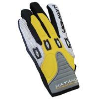 guantes todo terreno katahdin, amarillo, sm