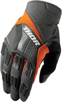 guantes todoterreno de rebote 2017 gris/naranja  lg