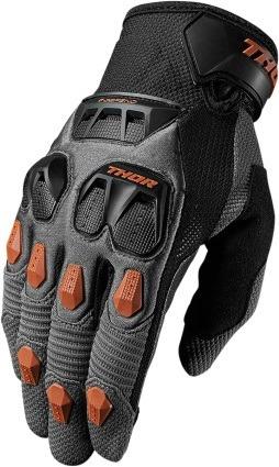 guantes todoterreno defend 2017 gris/naranja oscuro xs
