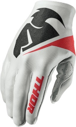 guantes todoterreno thor invert flection 2017 blanco xl
