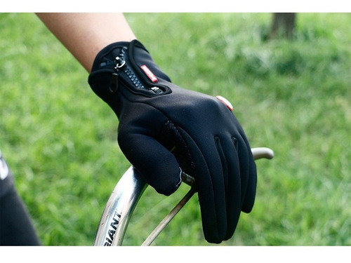 guantes touch celular impermeables termicos motocicleta full