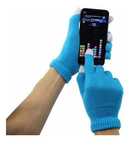 guantes touch para celulares, tablet, pantalla táctil, etc