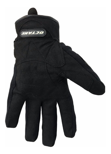 guantes touring octane oct 304 negro/rojo