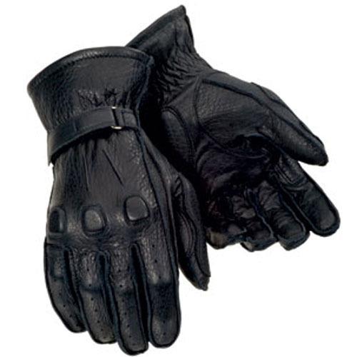 guantes tourmaster de piel de ciervo negros xl