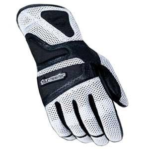 guantes tourmaster intake air blanco xs